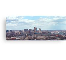 Cincinnati Opening Day Reds Game Canvas Print