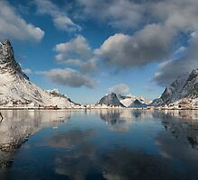 Breaking the Ice in Reine by Kristin Repsher