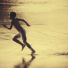 Beach Runner by ZeamonkeyImages