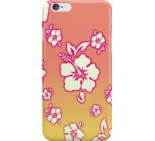 Hawaiian Sunset Floral Wallpaper iPhone iPod Case iPhone Case/Skin