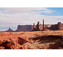 Monument Valley Totem Pole Photographic Print