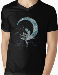 when the moon told you so Mens V-Neck T-Shirt