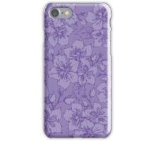 Scribble Purple iPhone Case/Skin