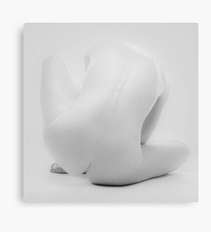 Grey Nude I Canvas Print