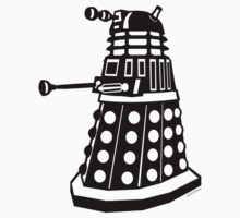 Dalek (Black) by Sharknose