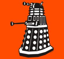 Dalek (Black + White) by Sharknose
