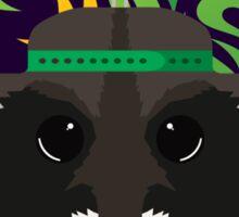 Raccoon Madness Sticker