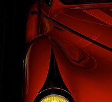 Vintage Talbot Head Lamp Detail by DaveKoontz