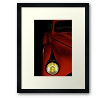 Vintage Talbot Head Lamp Detail Framed Print