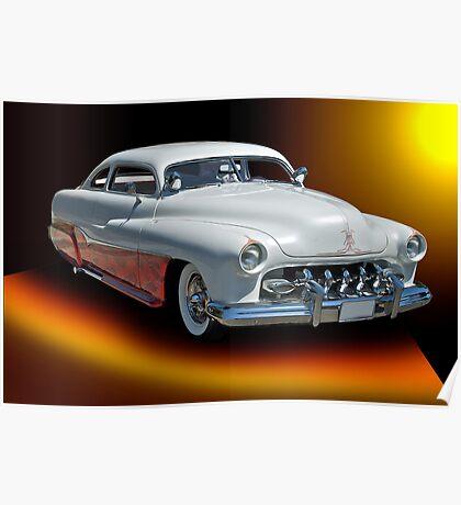 1951 Mercury Custom Poster