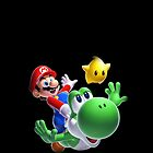Mario, Yoshi, and a Star! by Mytholxgy