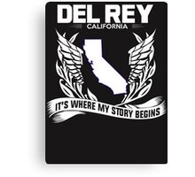 DEL REY,CALIFORNIA Canvas Print