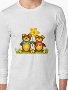 Teddy Bears Long Sleeve T-Shirt