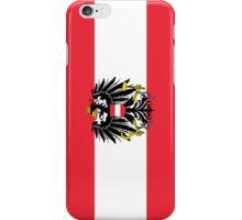 Smartphone Case - Flag of Austria (State) horizontal  iPhone Case/Skin