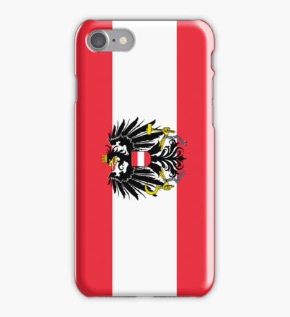 Smartphone Case - Flag of Austria (State) horizontal  iPhone Case/Skin