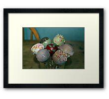 Cake Pops! Framed Print