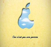 An homage to Magritte by dacom