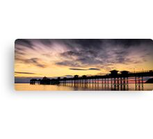 Sunrise Silhouette by Smart Imaging Canvas Print