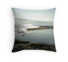 Galapagos Landscape #2 Throw Pillow