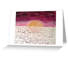 Golden Rouge Greeting Card