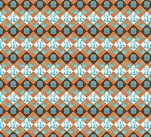 Bird Octopus and Penguin Pattern by SaradaBoru