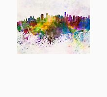 Vancouver skyline in watercolor background Unisex T-Shirt