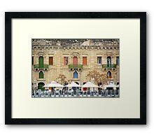 Malta 10 Framed Print