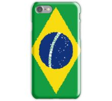 Smartphone Case - Flag of Brazil - Paint iPhone Case/Skin