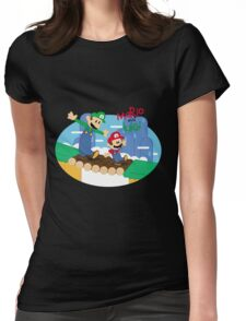 It's a Magical World Womens Fitted T-Shirt