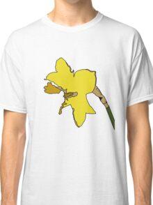 Torn Daffodil Classic T-Shirt