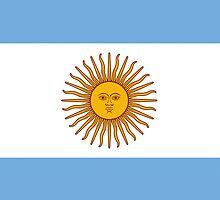 Smartphone Case - Flag of Argentina - Horizontal by Mark Podger