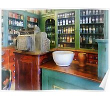 Mortar and Pestle in Pharmacy Poster