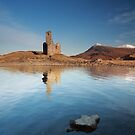 Ardvreck Castle at Sunrise by Maria Gaellman