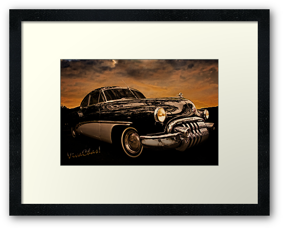 Big Black Buick Art Deco At Its Best by ChasSinklier