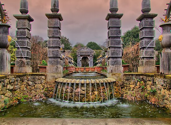 The Collector Earl's Garden Arundel Castle 2 - HDR by Colin J Williams Photography