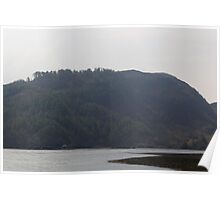 Loch Duich and the surroundings  Poster