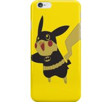 Pikachu batman iPhone Case/Skin