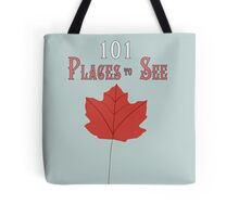 101 Places To See Tote Bag