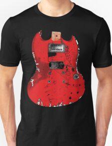 Guitar Grunge Rock (design #2) T-Shirt