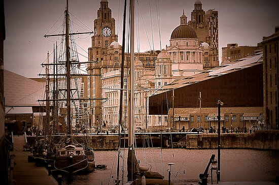 Liverpool Masts by Stan Owen