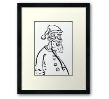 Ugly Santa 1 Framed Print