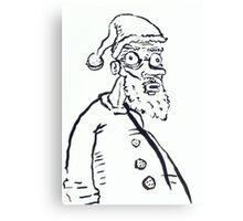 Ugly Santa 1 Canvas Print