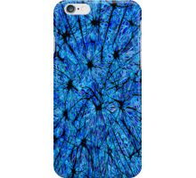 Dandelion Abstract iPhone Case (Blue) iPhone Case/Skin