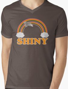 Firefly - Serenity | Double rainbow Mens V-Neck T-Shirt