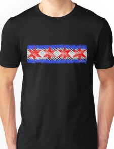 The Chicago Flag Unisex T-Shirt
