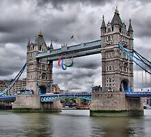 Para Olympic London 2012 - Tower Bridge by Colin J Williams Photography