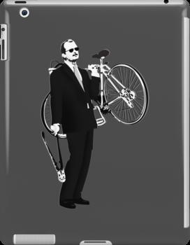 Bill Murray - Bike Thief by Steve Hryniuk