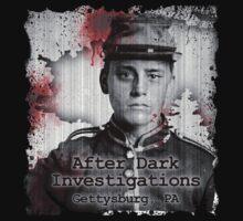 After Dark Investigations - Paranormal Civil War Tee by adinvestigators