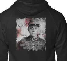 After Dark Investigations - Paranormal Civil War Tee Zipped Hoodie