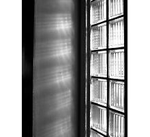 Glass Blocks Photographic Print